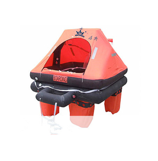 ISO 9650-2 Throw Overboard Inflatable Life Raft for Yacht