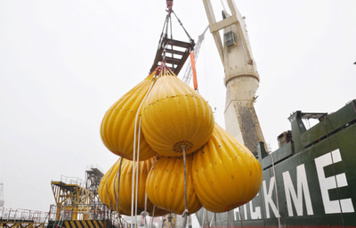Crane Load Test Water Bag