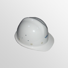 FRP Safety Helmet Single-vein Type